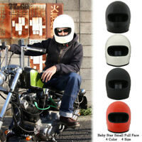 TT&CO Japan Full Face Rider Motorcycle Helmet Motorbike Retro Ninja Small Cool