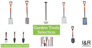 Spade Fork Grass Lawn Garden Digging Tools Carbon Steel  Border Edging Tool