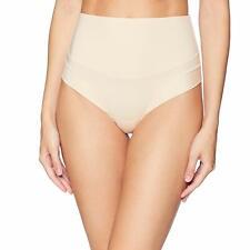 Yummie FRAPPE Tummie Tamers Mid Waist Thong Underwear, US Medium