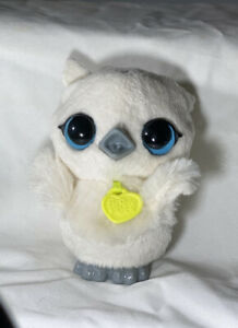 """2016 Hasbro FurReal Friends Luvimals Baby Grand Sweet Singing Owl Toy 4.5"""" GUC"""