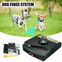 Rechargeable Waterproof Dog Fence Hidden Electronic Fence System Pet Containment