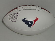 BRIAN CUSHING SIGNED FOOTBALL HOUSTON TEXANS AUTOGRAPHED