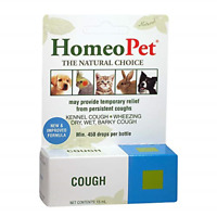 Cough Remedy Dogs Cats Birds Pets Kennel Barky Dry Wet Reliever HomeoPet 15ml