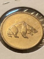 Vintage Coin Token, Bear, Keep The Bear Fierce Coin Token P29