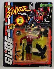 Hasbro GI Joe Sgt. Savage Jet-Pack General Blitz MOC