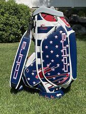 Vessel Golf Bag Le Pars and Stripes 2020 Us Open Tour Staff Bag