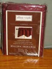 Valances. Valances. Lined Curtains  Allen Roth Curtains