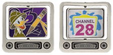Disney Channel 28, Donald Duck Lenticular Spinner Pin Le 1000 pin (confirmed)