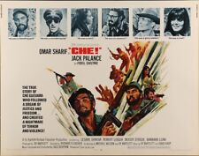CHE! half sheet movie poster 22x28 OMAR SHARIF CHE GUEVARA CASTRO CUBA 1969 NM