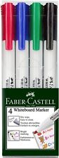 """""""New""""MARKER WHITEBOARD FABER-CASTELL STD COLOURS WLT4(EACH)-Free"""