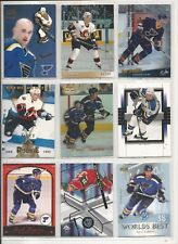 Lot of 38 Different Pavol Demitra Hockey Card Collection Mint