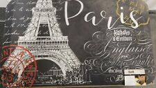 "ANTI FATIGUE KITCHEN CUSHION MAT (18""x30"") (Not PVC) PARIS, EIFEL TOWER, SS"