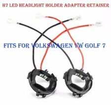 2 ADAPTADORES KIT  LED, XENON  H7, GOLF VI, VII,TOURAN,ALHAMBRA,SCIROCCO,GOLF 7