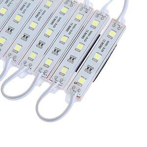 20 PACK LED MODULES 3 SMD5050 IP65 DC 12V BRIGHT STRIP LAMP LIGHT COOL WHITE