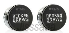Redken for Men MANEUVER Cream Pomade 2 x 100ml BREWS Working Wax