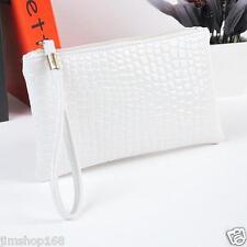 Women Handbag Bag Crocodile Leather Clutch Handbag Messenger Bag Coin Purse Hot