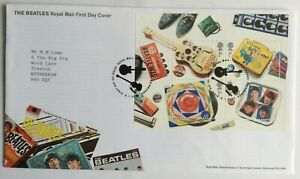 GB FDC 2007 - THE BEATLES Minisheet - Tallents House PMK