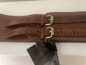 Jocasi Belt Classic in Tan Leather