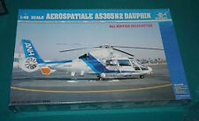 Aerospatiale AS365 N 2 Dauphin Helicopter Trumpeter 1/48 Factory Sealed.