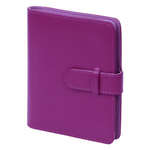 Photo Album for Fujifilm Instax Mini Film PU Leather 64 Pockets Purple