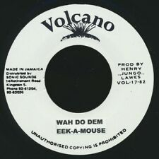 "NEW 7"" Eek A Mouse - Wa Do Dem  /  Roots Radics - Version"