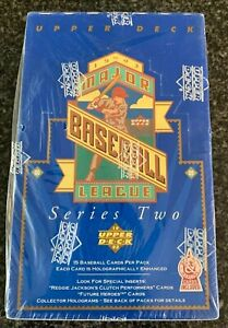 1993 Upper Deck Baseball Series 2 Factory Sealed Box Derek Jeter RC?