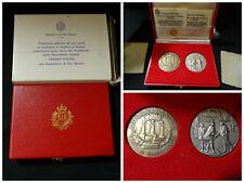 San Marino medaglie argento e bronzo Visita Presidente Repubblica sandro Pertini