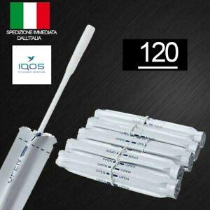 120 IQOS Cleaner - Original Cleaning Sticks - 120 Bastoncini per Pulizia