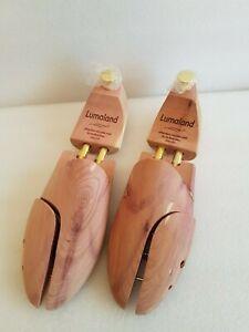 Luxury Wooden Shoe Stretchers - Size 44/45 - 100% Premium Cedar Wood - Lumaland