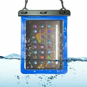 Waterproof Holiday Beach Hiking Case Cover Pouch for Amazon Fire HD 10 Tablet