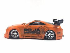 Muscle Machines Tuners 1997 97 Toyota Supra Orange Die Cast 1/64 T04-02 Loose