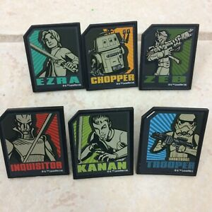 Star Wars Rebels 45 Rings Cake Decorating Toppers Cupcake Theme Party Favors