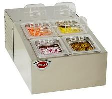 Wells RCTS-4 Self-Contained Refrigerated Counter Top Server