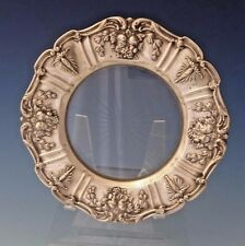 Francis I by Reed & Barton Old Sterling Silver Lemon Plate with Glass (#0157)