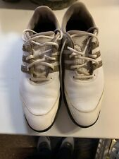 adidas mens golf shoes size 10 White And Beige