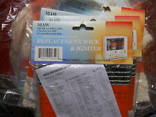 Maw Kerosene Heater Replacement Wick & Igniter Part #1183017 Mw 06-09 / 650
