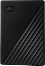 WD WDBYVG0010BBK-WESN My Passport 1TB External USB 3.0 Portable Hard Drive with