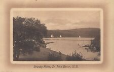 Brandy Point ST. JOHN RIVER New Brunswick Canada 1907-15 Valentine & Sons