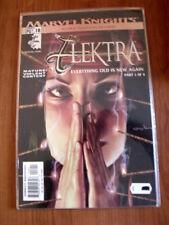 ELEKTRA - Marvel Knights n°18 Part 1 of 4  Marvel Comics   [SA31]