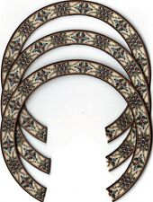 THREE, UKULELE ROSETTES, (Soprano)  INLAY, SOUND HOLE 412-S-3