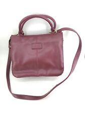 df319fa82980 RELIC Wine Faux Leather Shoulder Bag Crossbody 3 compartments accordion  style
