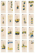 Minions Transparent Mobile Phone Cases & Covers for Apple