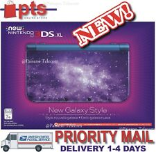 NEW Nintendo New 3DS XL LAST VERSION 2017 Fast QuadCore Processor (Galaxy Style)