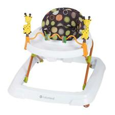 Baby Walker Foldable High Back Seat Toddler Activity Toys Tray Walking Jumper