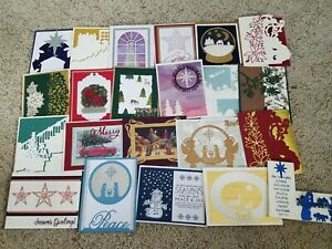 Christmas Card lot of 20 Stampin' Up!, Papertrey (#1)