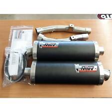 MIVV Exhaust Suzuki DL V-Strom 1000 Bj.02-13 (Oval, Carbon, Motorcycle)