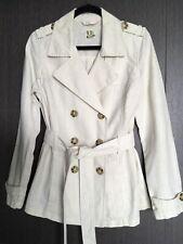 Linen Cotton safari Style Blazer Size s