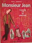 MONSIEUR JEAN TOME 5 COMME S IL EN PLEUVAIT en EO de DUPUY/BERBERIAN