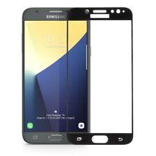 Pellicola VETRO Bordo Nero per Samsung Galaxy J7 2017 J730 protezione display