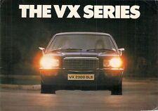Vauxhall VX Series 1976 UK Market Launch Foldout Brochure Saloon Estate GLS